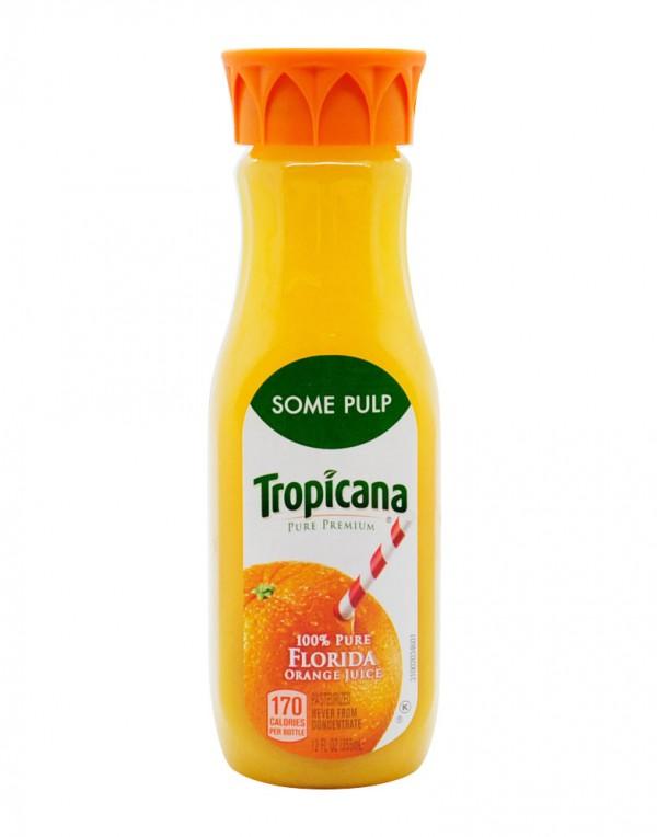 Tropicana 橙汁(少果肉)12fl oz-0