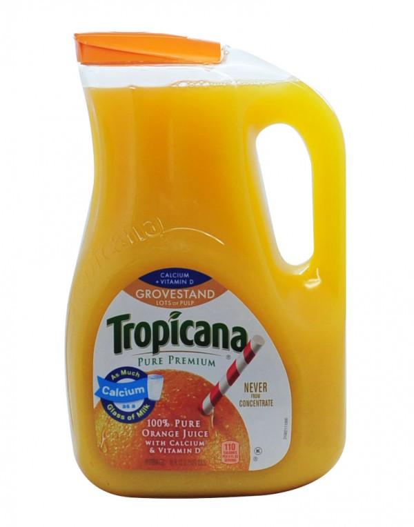 Tropicana 橙汁(加钙维D果肉) 2.63L-0