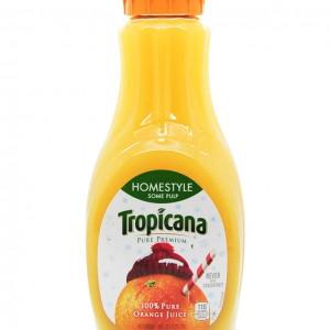 Tropicana 橙汁(少果肉) 59fl oz-0