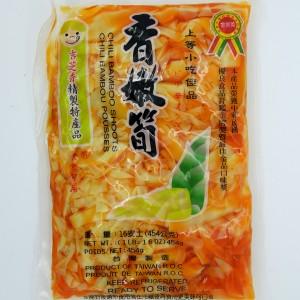 吉芝香 香嫩笋 (辣味) 454g-0