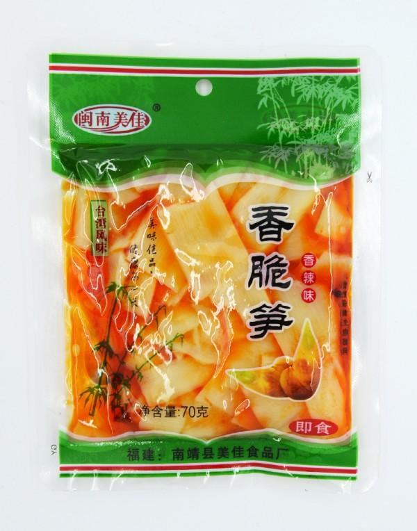 闽南 美佳香辣味香脆笋 70g-0