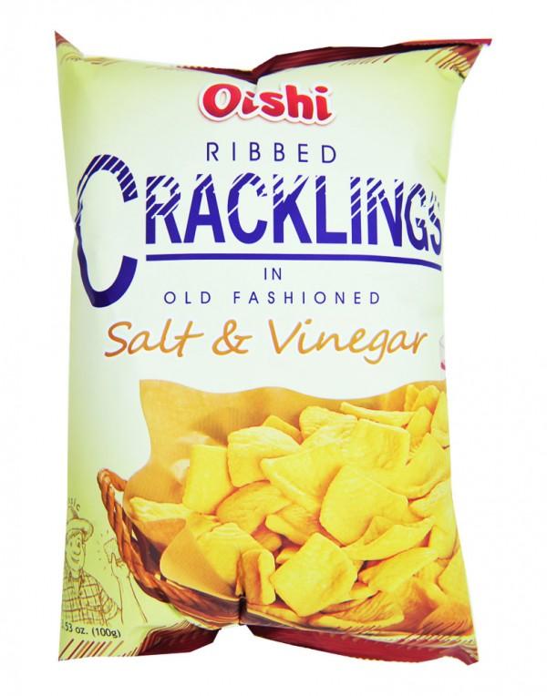 菲律宾 Oishi Ribbed 零食 100g-0
