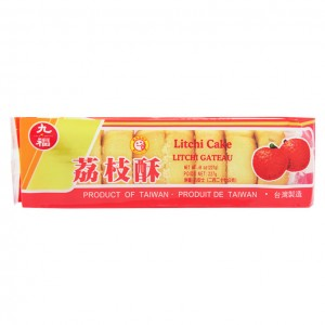 台湾 九福 荔枝酥 8oz-0