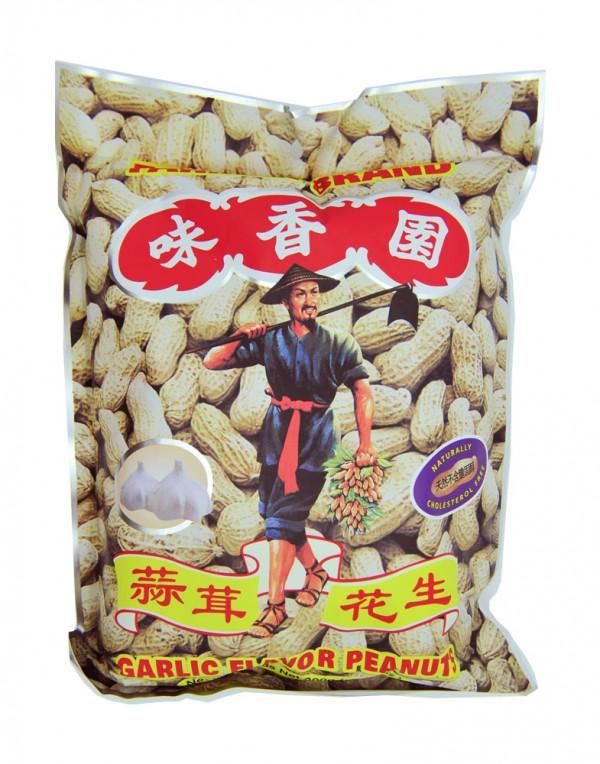 味香园 蒜蓉花生 300g-0
