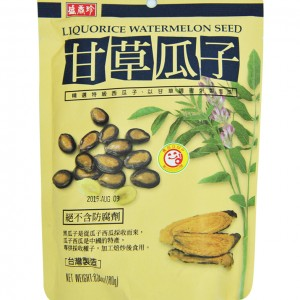 台湾 盛香珍 甘草瓜子 180g-0