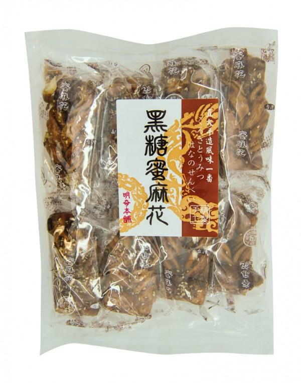 台湾 明奇 黑糖蜜麻花 250g-0