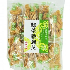 台湾 明奇 绿茶蜜麻花 250g-0