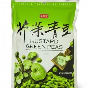 台湾 盛香珍 芥末青豆 240g-0
