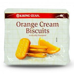 新加坡 康元 橘子奶油饼干 200g-0