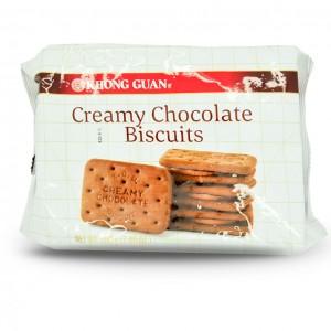 新加坡 康元 奶油巧克力饼干 200g-0
