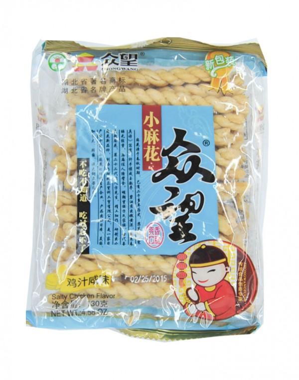 众望 小麻花 (鸡汁咸味) 4.58oz-0