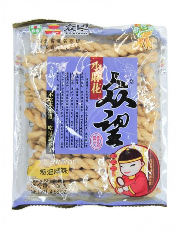 众望 小麻花 (葱油咸味) 4.58oz-0