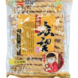 众望 小麻花 (芝麻甜味) 4.58oz-0