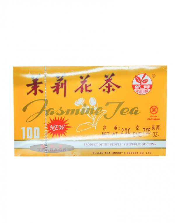 新芽 茉莉花茶(盒装)7.05oz-0
