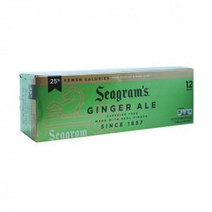 美国 Seagram's 姜汁汽水 12罐装-0