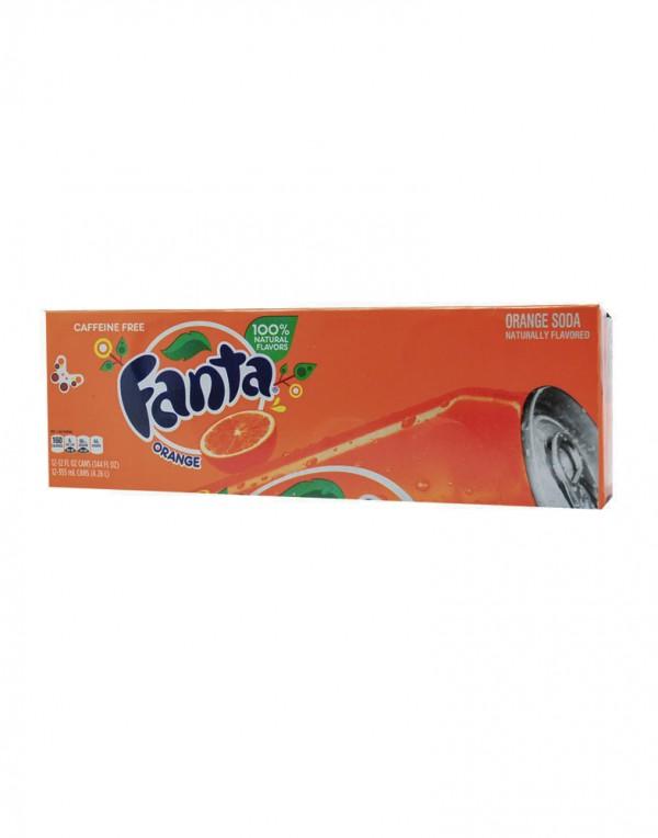 可口可乐公司 芬达橙汁 12罐装-0