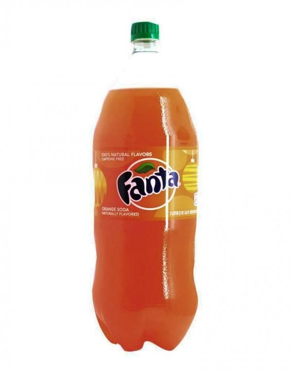 可口可乐公司 芬达橙汁 67.6 FL OZ-0