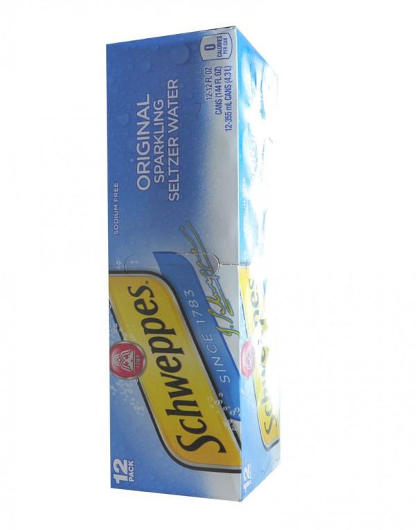 美国 Schweppes 原味苏打水 12罐装-0