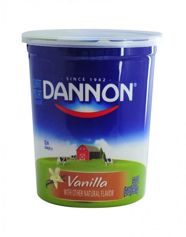 Dannon 香草味酸奶 2lb-0