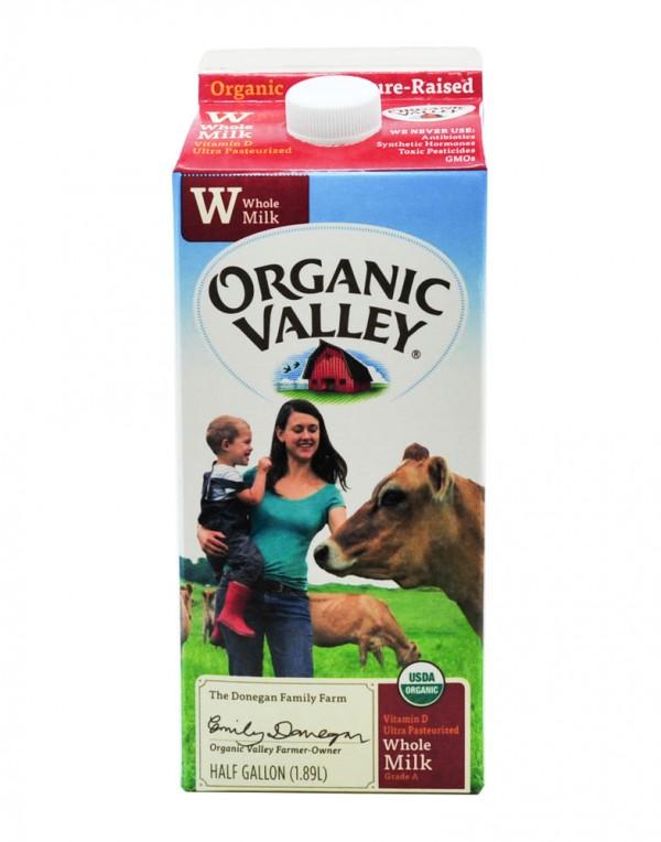 Organic Valley 全脂牛奶 1.89L-0
