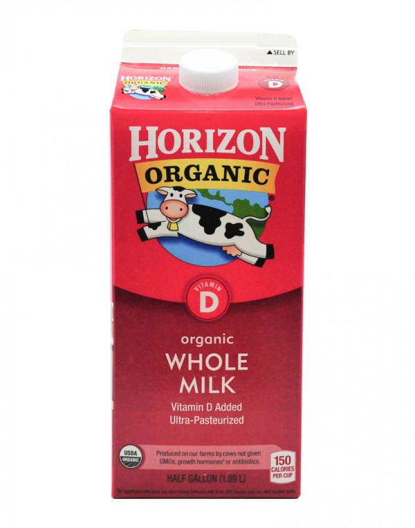 Horizon Organic Whole Milk 全脂牛奶 1.89L-0