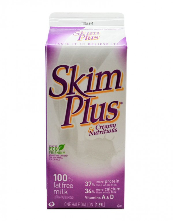 Skim Plus 脱脂牛奶 1.89L-0