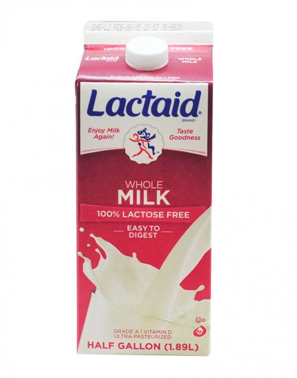 Lactaid 全脂牛奶 1.89L-0