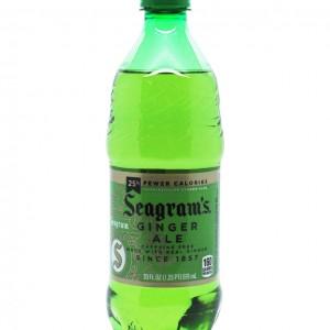 Seagram's 姜汁饮料 20fl oz-0