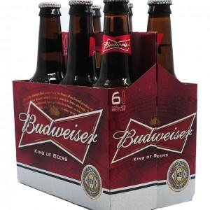 百威Budwiser 啤酒(6瓶装)72fl oz-0