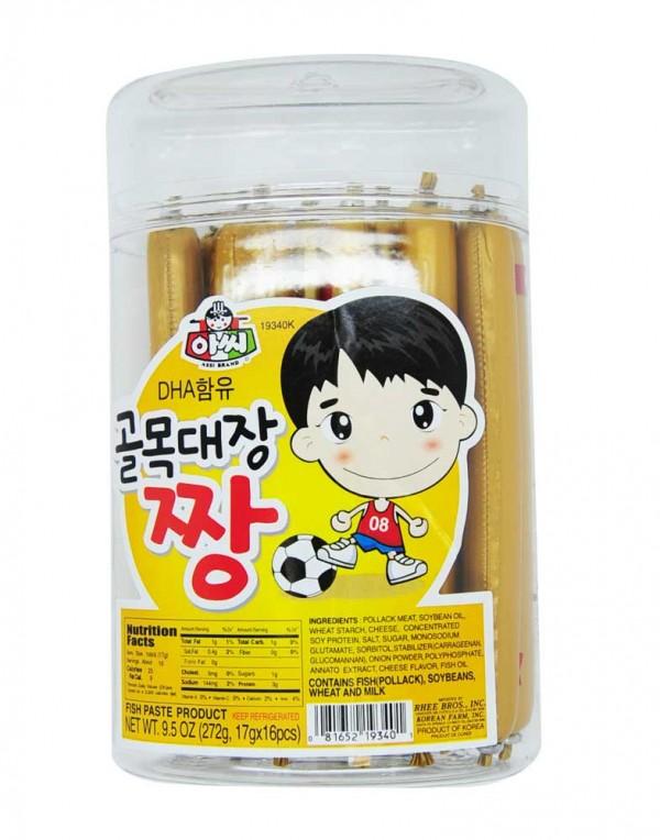 韩国 ASSI DHA鱼肉香肠 272g-0