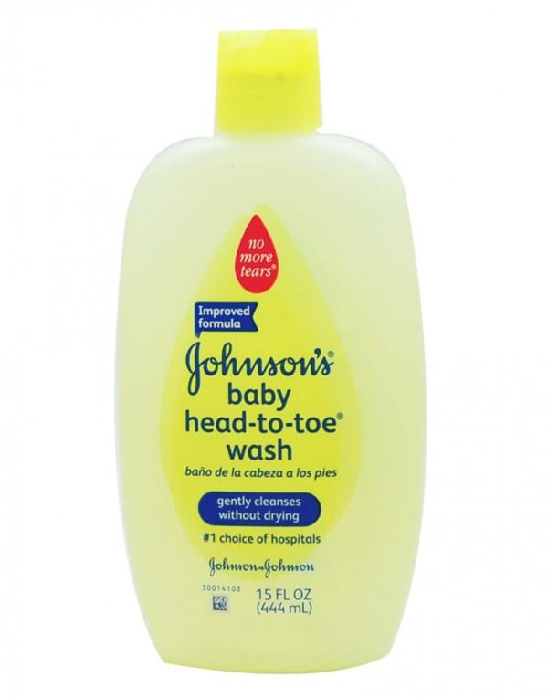 强生 婴儿洗发水沐浴露二合一 15oz-6274