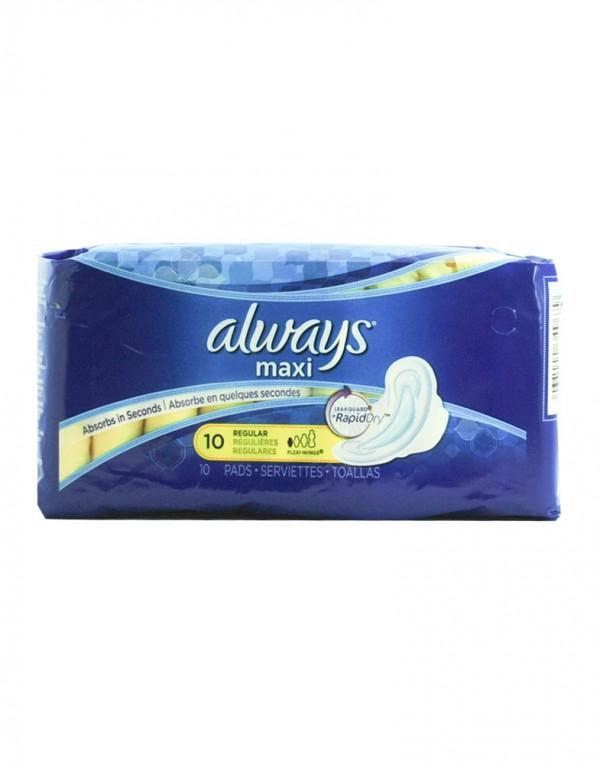 Always Maxi 卫生巾 (Regular) 10片-0