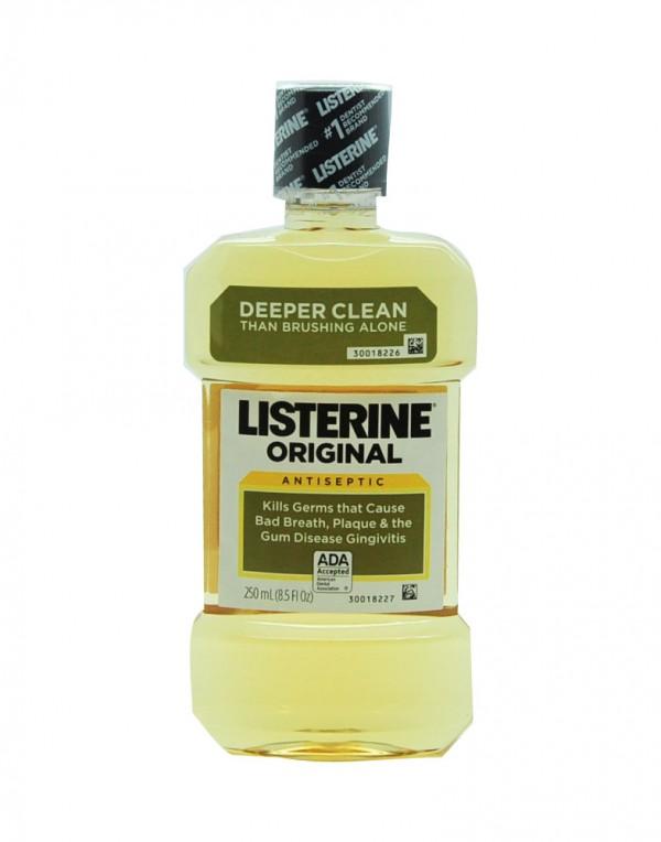 Listerine 漱口水(原味)250ml-6436