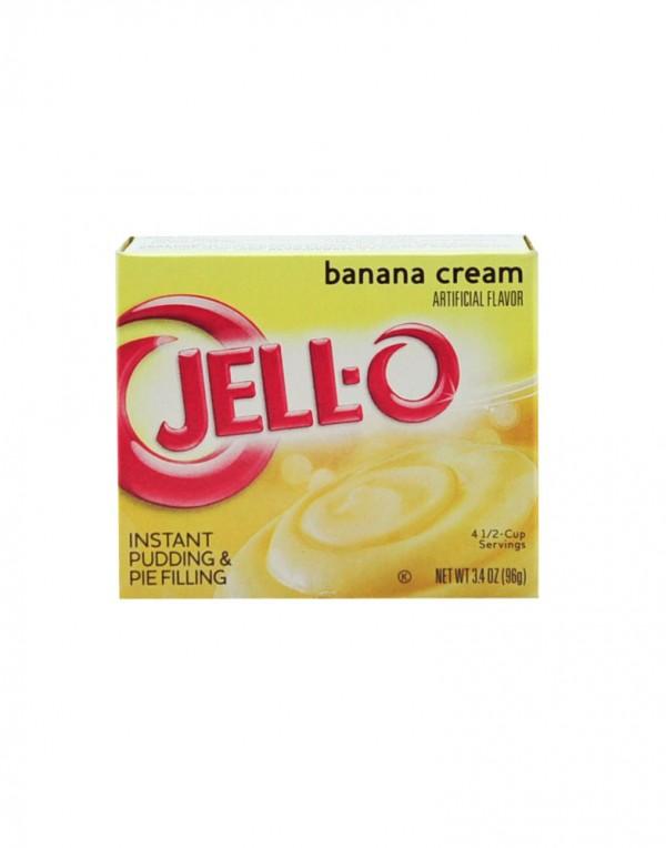 Jell-O 布丁 (香蕉) 3.4oz-0