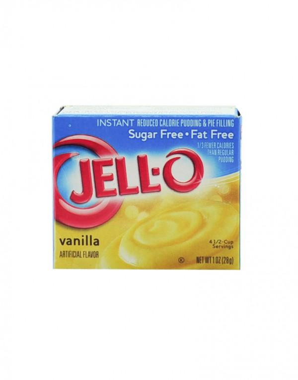 Jell-O 布丁 (香草, 无糖) 1oz-0