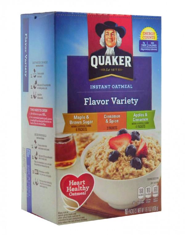 Quaker 燕麦片 (多种口味) 430g-0
