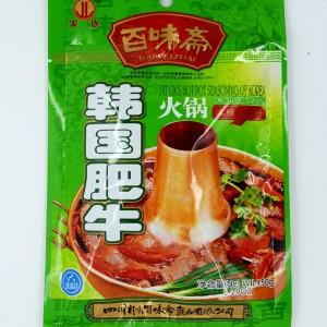 百味斋 韩国肥牛火锅汤料 150g-0