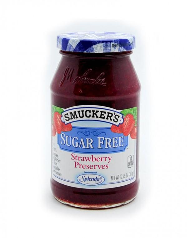 Smucker's 无糖草莓酱 12.75oz-0