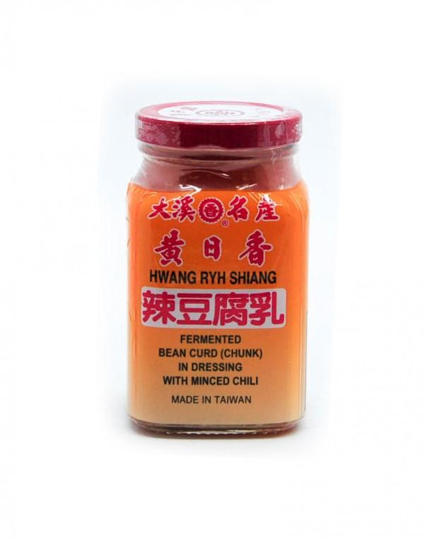 黄日香 辣豆腐乳 300g-0