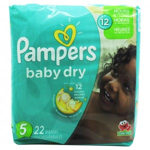 Pampers baby dry 尿不湿 22片-0