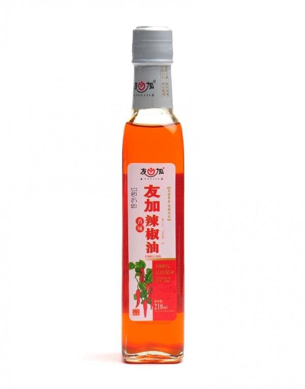中国 友加 香辣辣椒油 210ml-0
