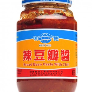 台湾 明德 辣豆瓣酱 460g (16.2oz)-0