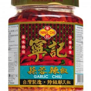 台湾 宁记 蒜茸辣椒酱 280g-0