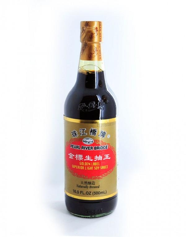 珠江桥牌 金标生抽王 500ml-0