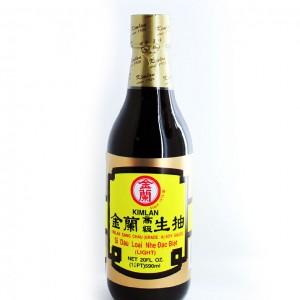 台湾 金兰 高级生抽 590ml-0