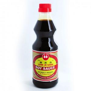 台湾 万家香 纯酿造酱油 495ml-0