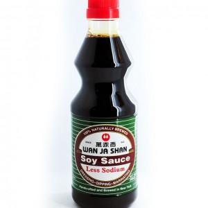 台湾 万家香 薄盐酱油 500ml-0
