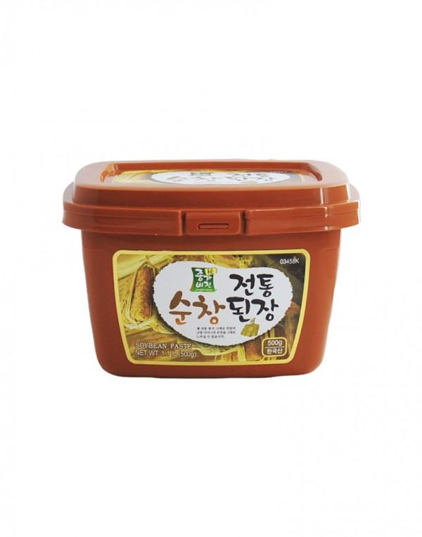 韩国 JongaVision 豆瓣酱 (干酱) 500g-0