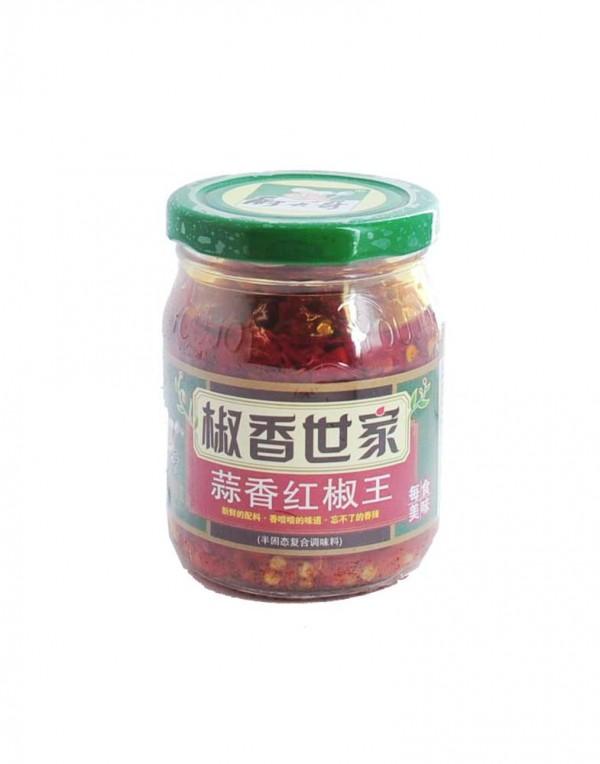 椒香世家 蒜香红椒王 180g-0