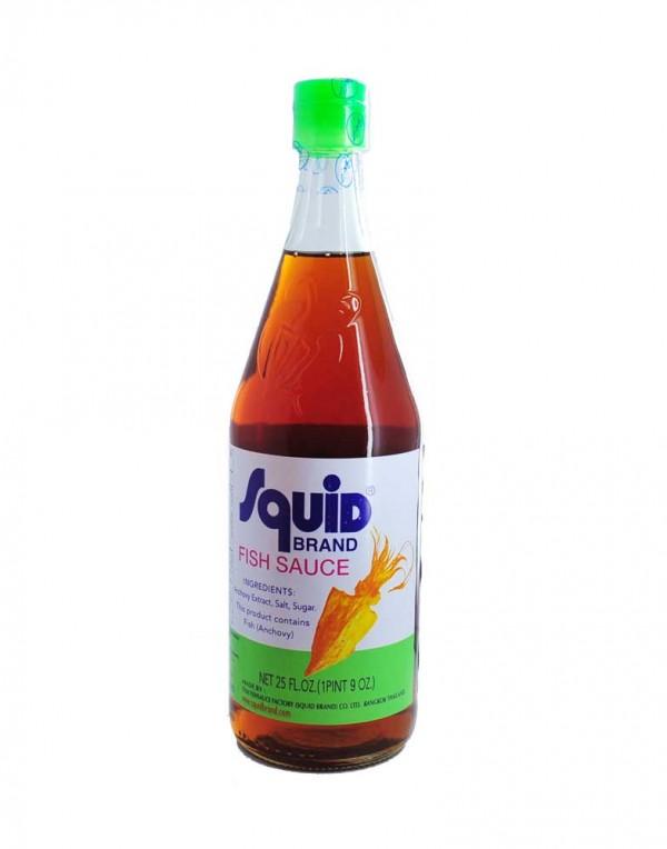 泰国 Squid鱿鱼牌 鱼露 25FL OZ-0